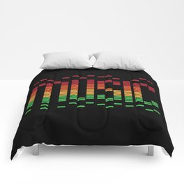 Music Equalizer Comforters