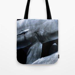 Shark Crossing Tote Bag