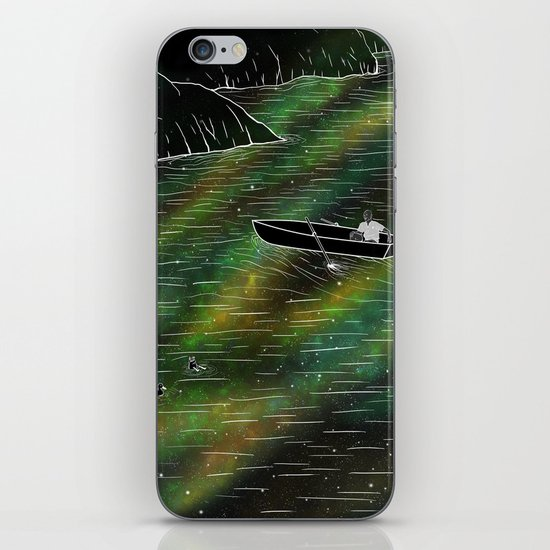 The Space Ship iPhone & iPod Skin