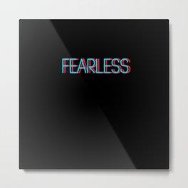 Fearless   Digital Art Metal Print