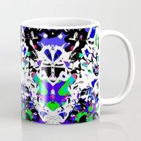 robot Mugs featuring robot by BUBUBABA