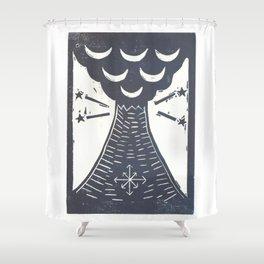 Change (White) Shower Curtain