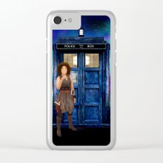 Mrs River Diary Doctor who iPhone, ipod, ipad, pillow case and tshirt Clear iPhone Case