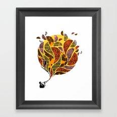 Trumpet Framed Art Print