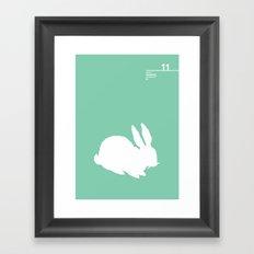 11_lprabbits_K Framed Art Print