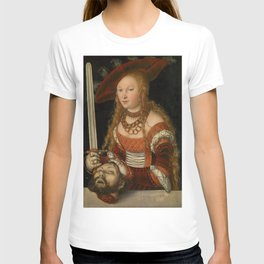 "Lucas Cranach the Elder ""Judith with the Head of Holofernes"" 2. T-shirt"