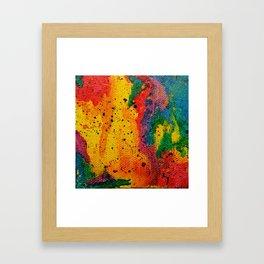 Rainbow Abstract #17 Framed Art Print