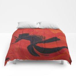 Dancing Poppy Comforters