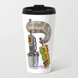 MACHINE LETTERS - R Travel Mug