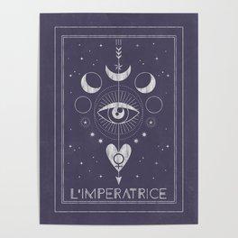 L'Imperatrice or L'Empress Tarot Poster