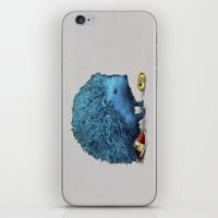 sonic iPhone & iPod Skins featuring Sonic (color option) by Eric Fan