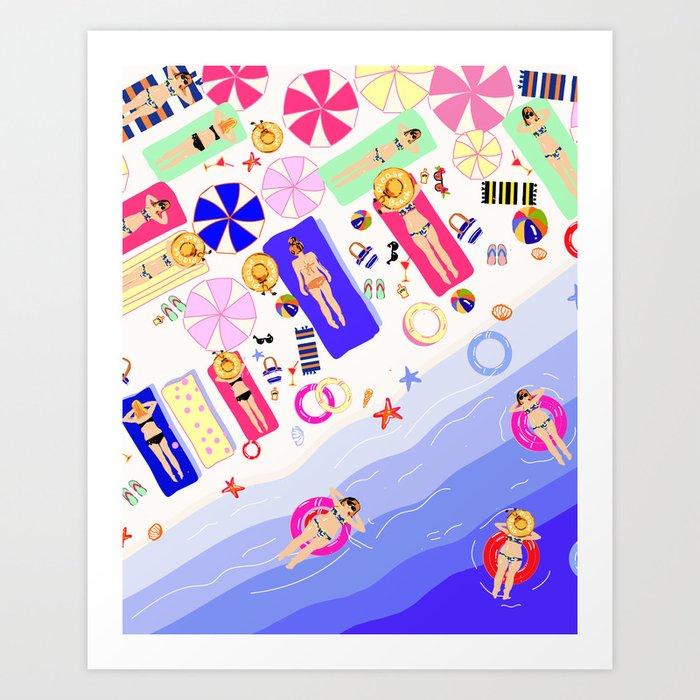Beach Love - Part 2 Kunstdrucke