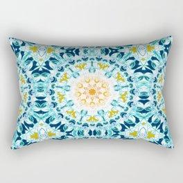 Mustard & Teal Mandlaa Rectangular Pillow