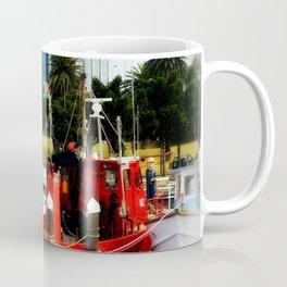 Little red tug Boat Coffee Mug