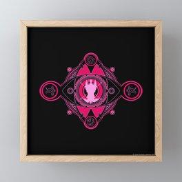 Anima fayth Framed Mini Art Print