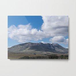 Irish Mountains Metal Print