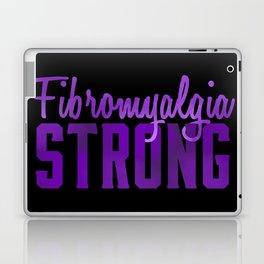Fibromyalgia Strong Laptop & iPad Skin