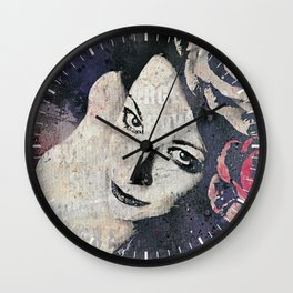 Sick On Sunday: Violet Wall Clock
