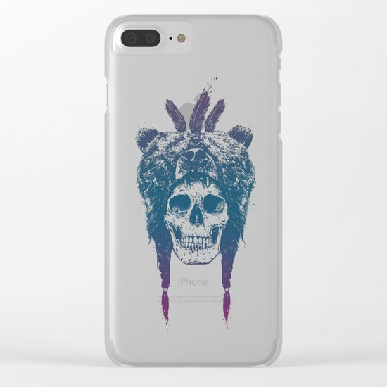 Dead shaman Clear iPhone Case