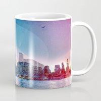 manhattan Mugs featuring Manhattan by Esco