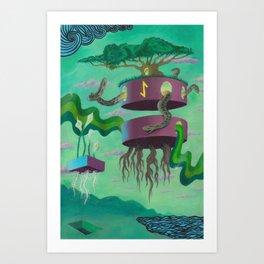 Eihwaz Art Print