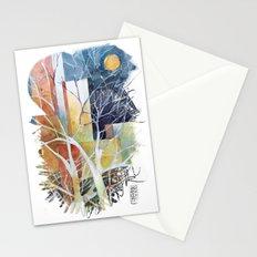 Le torri e la luna Stationery Cards