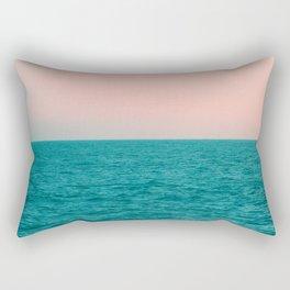 #Turquoise #Sea Rectangular Pillow