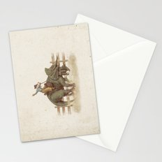 Dino Rodeo  Stationery Cards