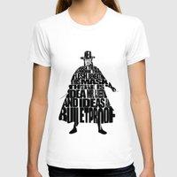 vendetta T-shirts featuring V 4 Vendetta by Ayse Deniz