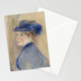 Bust of a Woman Stationery Cards