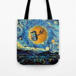 Doctor Who 4th at starrynight Tote Bag