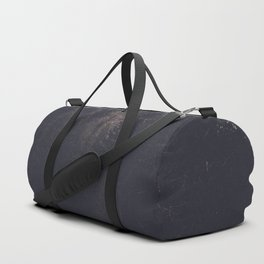 Foggy Forest Road - Lets Get Wild Nature Photography Duffle Bag