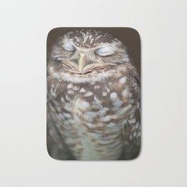 Sleeping Owl Bath Mat