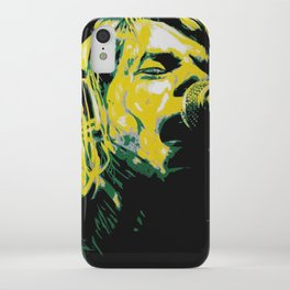 COBAIN UNPLUGGED iPhone Case
