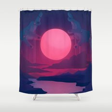 Here Comes the Flood Shower Curtain