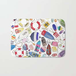 Buoy Collection Bath Mat