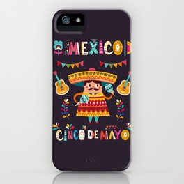 Cinco de Mayo – Mexico iPhone Case