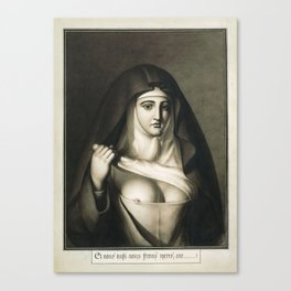 The Awful Disclosures of Maria Monk Canvas Print
