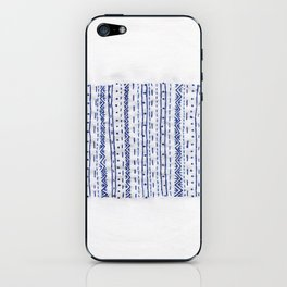 Embroidery B.1 iPhone Skin
