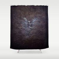 fairy Shower Curtains featuring Fairy by Digital Asylum (Josh Winton)
