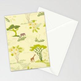 Acacia Trees Stationery Cards