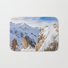Mountain France Savoie Bath Mat