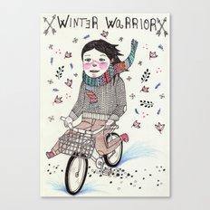 Winter Warrior Canvas Print