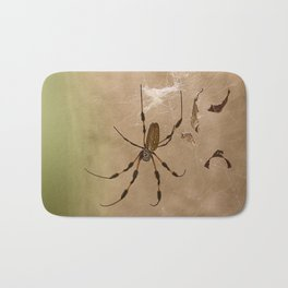 Florida banana Spider Bath Mat