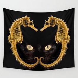 Cat Fish Wall Tapestry