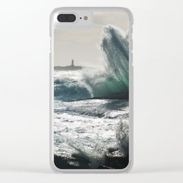 Launching Seas Clear iPhone Case