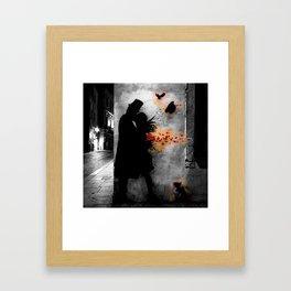 Tribute to Kennyrandom | b&w Framed Art Print