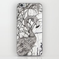 rare iPhone & iPod Skins featuring Rare Bird by Shanna Duncan