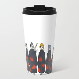 Naruto Akatsuki Dorks Travel Mug