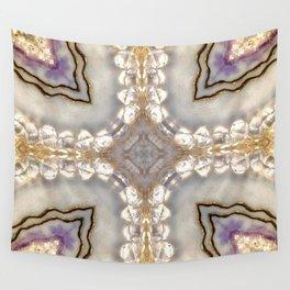 Crystal Gems Kalidoscope Hippie Art Wall Tapestry